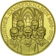 500 Schilling (Vienna Boys' Choir) – obverse