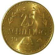 25 Schilling -  reverse