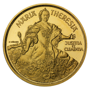 1000 Schilling (Maria Theresia) -  reverse