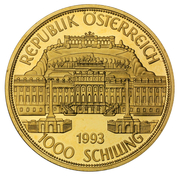 1000 Schilling (Maria Theresia) -  obverse