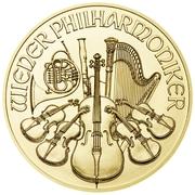 10 Euro (Vienna Philharmonic) -  obverse