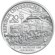 20 Euro (The Electric Railway) -  obverse