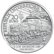 20 Euro (The Electric Railway) – obverse