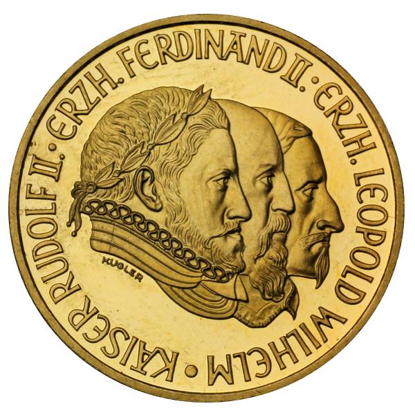 500 Schilling Rudolf Ii Austria Numista