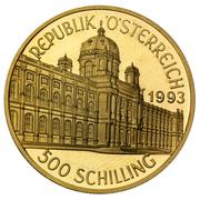 500 Schilling (Kunsthistorisches Museum Vienna) -  obverse