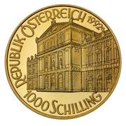 1000 Schilling (Strauss) -  obverse