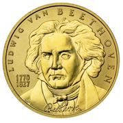 50 Euro (Ludwig van Beethoven) -  obverse