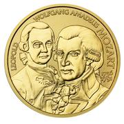 50 Euro (Mozart) -  obverse