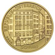 50 Euro (Mozart) -  reverse