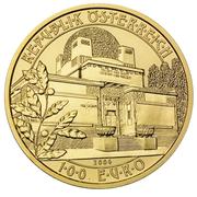 100 Euro (Seccession) -  reverse