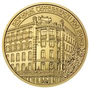 100 Euro (Linke Wienzeile Nr.38) -  reverse