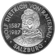 500 Schilling (Birth of Salzburg's Archbishop von Raitenau) -  reverse