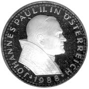 500 Schilling (Pope's Visit) -  obverse