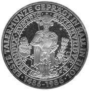 500 Schilling (First Thaler Coin Struck) -  reverse