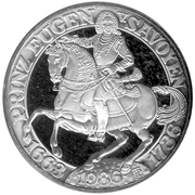 500 Schilling (Prince Eugene of Savoy) -  obverse