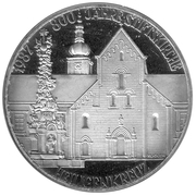 500 Schilling (Holy Cross Church) -  obverse