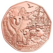 5 Euro (Arctic Adventure) -  reverse