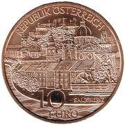 10 Euro (Salzburg) -  obverse