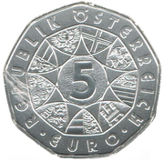 5 Euro (New Year) -  obverse