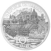 10 Euro (Salzburg; Silver issue) -  obverse