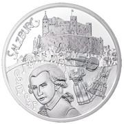 10 Euro (Salzburg; Silver issue) -  reverse
