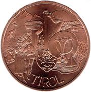 10 Euro (Tirol) -  reverse
