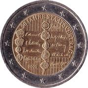 2 Euro (Austrian State Treaty) -  obverse