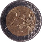 2 Euro (Austrian State Treaty) -  reverse