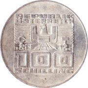 100 Schilling (Staatsvertrag) -  reverse