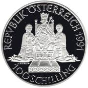 100 Schilling (Rudolph I) -  obverse