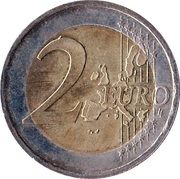 2 Euro (1st map) -  reverse