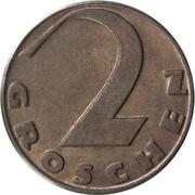 2 Groschen -  reverse