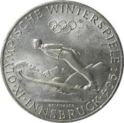 50 Schilling (Olympische Winterspiele) -  reverse