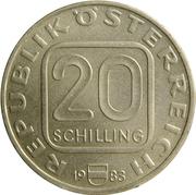 20 Schilling (Hochosterwitz Castle) -  obverse