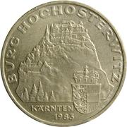 20 Schilling (Hochosterwitz Castle) -  reverse