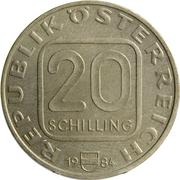 20 Schilling (Grafenegg Palace) -  obverse
