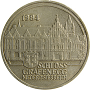 20 Schilling (Grafenegg Palace) -  reverse