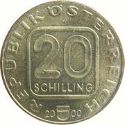 20 Schilling (Austrian Stamps) -  obverse