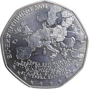 5 Euro (Enlargement of the European Union) -  obverse
