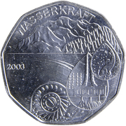 5 Euro (Waterpower) -  obverse