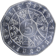 5 Euro (Waterpower) -  obverse