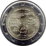 2 Euro (Anniversary of the National Bank) -  obverse