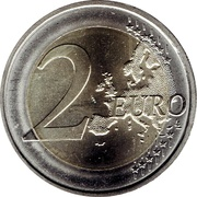2 Euro (Anniversary of the National Bank) -  reverse