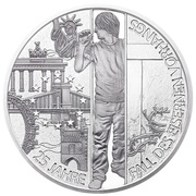 20 Euro (Fall of the Iron Curtain) -  reverse