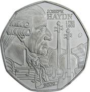 5 Euro (Joseph Haydn) -  obverse