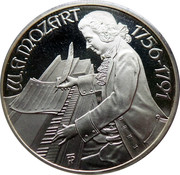 100 Schilling (Mozart - Burgtheater) -  obverse