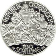 100 Schilling (Erzherzog Johann) -  reverse