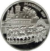 100 Schilling (Rudolf - Mayerling) -  reverse