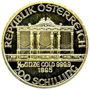 200 Schilling (Vienna Philharmonic; Gold Bullion Coinage) -  obverse