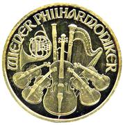 200 Schilling (Vienna Philharmonic; Gold Bullion Coinage) -  reverse